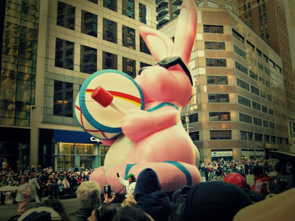 energizer bunny float