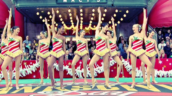 The Rockettes performance during the 81st Macy's Thanksgiving Day Parade.
