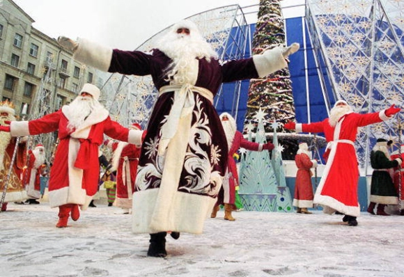 Get in the Holiday Spirit at the Moscow Winter Festival