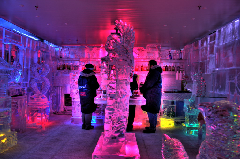 Minus5 Ice Bar in Las Vegas