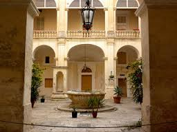 Discover the medieval Xara Palace and its beautiful internal courtyards.